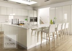 CROWN CALYPSO OYSTER GLOSS KITCHEN