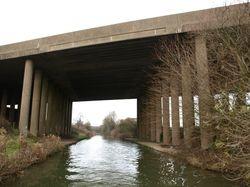 M6 Motorway bridge