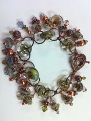 Hot Wired Glass Bracelet