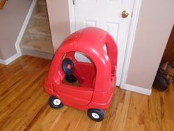 Step 2 Cozy Coupe (Toddle Tune Coupe) - $35
