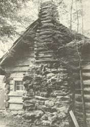 Restored Colonial Style Chimney