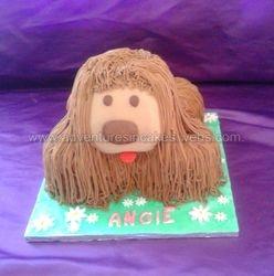 Dougal  dog Cake