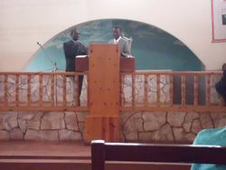 On the Pulpit