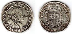 1582 Milan, Italy Ducaton