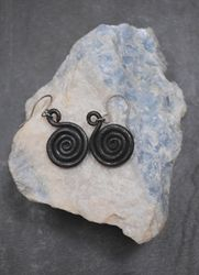 Forged Steel Earrings