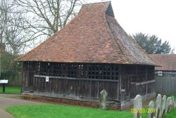 East Bergholt - Bell Cage, St Mary's