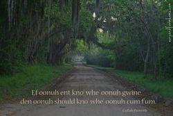 Gullah Proverb
