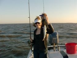 Kelly First Trout