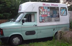 1980s Ice Cream Van