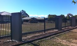Vertical Slatted Fence Infill Panels