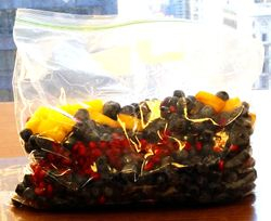 Blueberries Pineapple Pomegranate Seeds