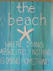 The Beach Where Doing Nothing is Doing Something