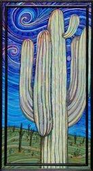 Cactus at Dawn - 50 x 24