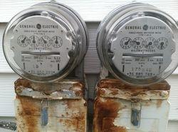 Old A Frame Meter Sockets