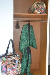 Use of batik bath robes during your stay