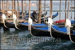 Gondolas,Venice,Italy