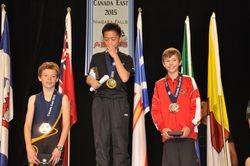 Matt Vecchio - 2nd place at Canada East 2015