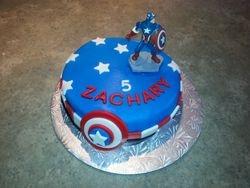 Gâteau Capitaine America