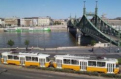 Tatra T5s & the Liberty Bridge