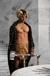 """Cristal warhammer from """"IMMORTALS"""""""