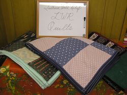 More of Trinity's LWR quilts!