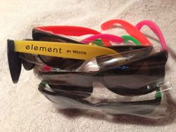 Sunglasses, Assorted Neon Frames. UV Protection.