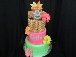 Leila's Tiki Cake