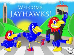 Welcome, Jayhawks!