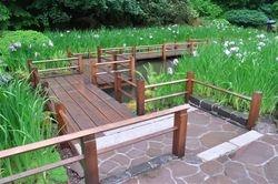 Wooden Walkway, Portland Japanese Garden