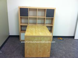 ikea expedit desk installation service in greenbelt md