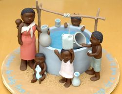 African water well