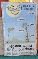 Old Fund Raising Poster