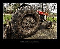 Tractor, Pendleton, Lancashire, England