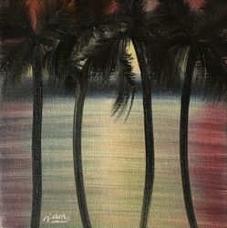 Palm Tree Haze