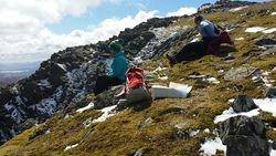 Siabod looking to Ddaear Ddu Ridge