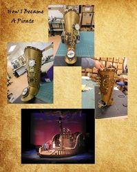 """Steampunk Pirate Leg, """"How I Became a Pirate"""""""
