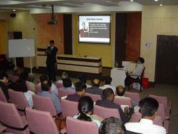 Seminar at All India Institute of Local Self Govt