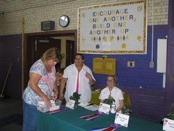 Lorraine, Ann Peltier and Bera Smith