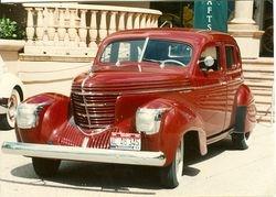 1939 Four Door Sedan