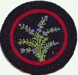 Purple Heather Patrol Badge