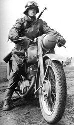 Motorcycle messenger: