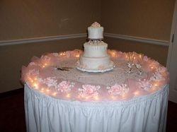 Cake Table Closeup