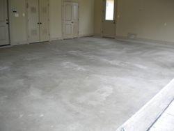 Garage before epoxy