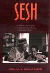 Sesh: An Afrikan-Centered Guide to Writing & Self-Publishing for Warrior Scholars- by M. Baruti, $16.95