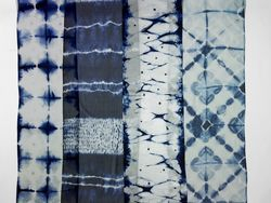 Shibori silk