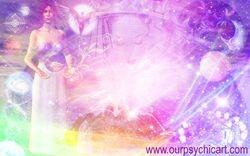 For Kat ~ Rainbow Goddess of Sacred Geometry ~