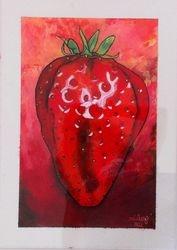Reverse Art Strawberry 2 (SOLD)