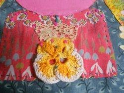 crochet pansy