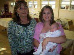 New Grandmother Debby and Courtney