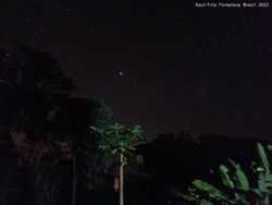 Canopus - the second brightest star in the sky after Sirius